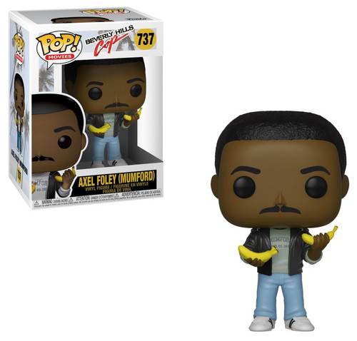 Funko Beverly Hills Cop POP! Movies Axel Vinyl Figure [Holding Bananas, Damaged Package]