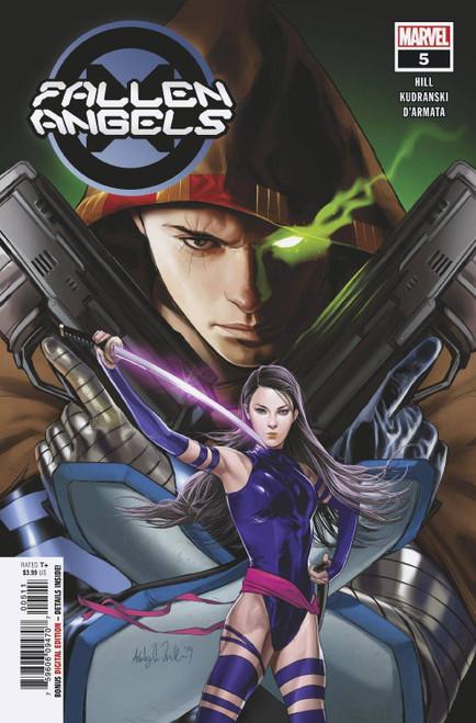 Marvel Fallen Angels #5 Comic Book