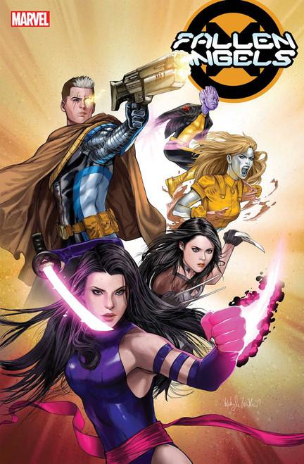 Marvel Fallen Angels #6 Comic Book