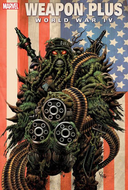 Marvel Comics Weapon Plus #1 World War IV Comic Book