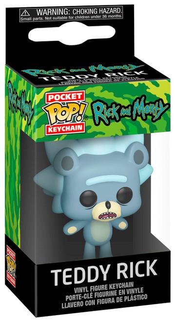 Funko Rick & Morty Pocket POP! Teddy Rick Keychain