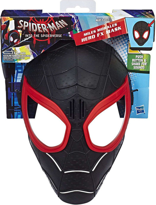 Marvel Spider-Man Into the Spider-Verse Miles Morales Hero FX Mask [Loose]