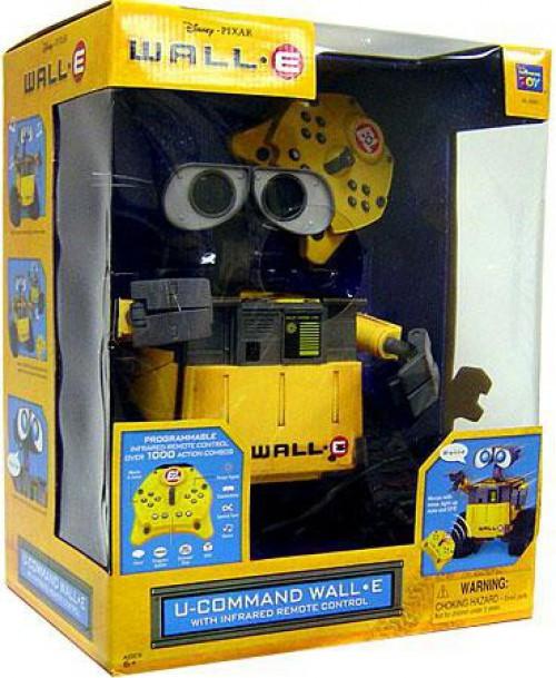 Disney / Pixar U-Command Wall-E 10-Inch Remote Control Robot [Damaged Package]