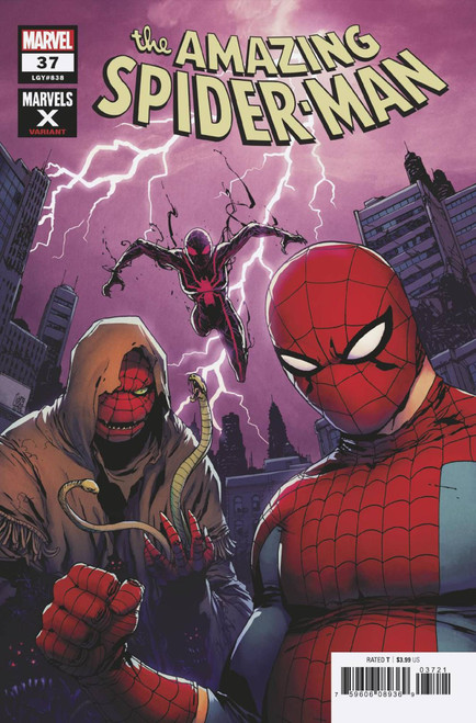 Marvel Amazing Spider-Man #37 2099 Comic Book [Giuseppe Camuncoli Marvels X Variant Cover]