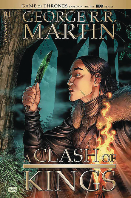 Dynamite Entertainment George R. R. Martin: A Clash of Kings #1 Comic Book