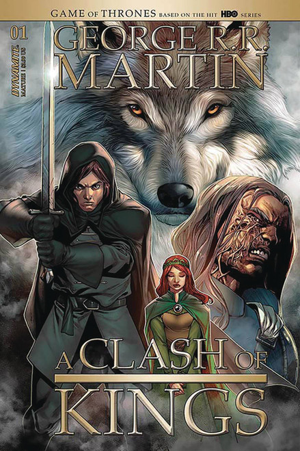 Dynamite Entertainment George R. R. Martin: A Clash of Kings #1 Comic Book [Stephen Segovia Cover C]