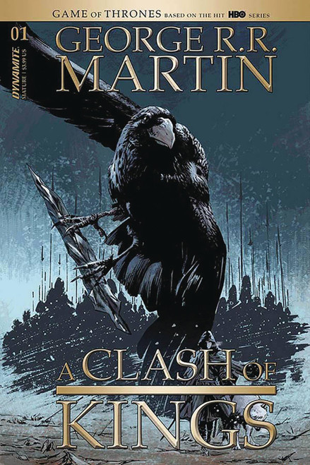 Dynamite Entertainment George R. R. Martin: A Clash of Kings #1 Comic Book [Butch Guice Cover D]