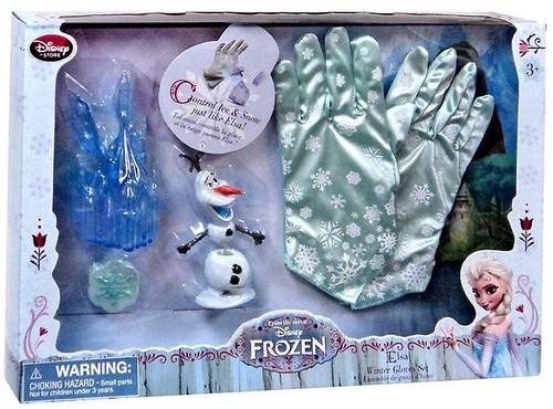Disney Frozen Elsa Winter Gloves Play Set Exclusive Dress Up Toy [Damaged Package]