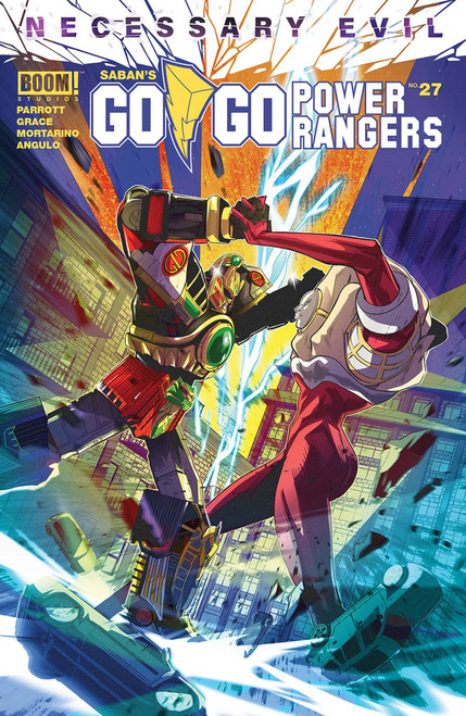 Boom Studios Go Go Power Rangers #27 Necessary Evil Comic Book