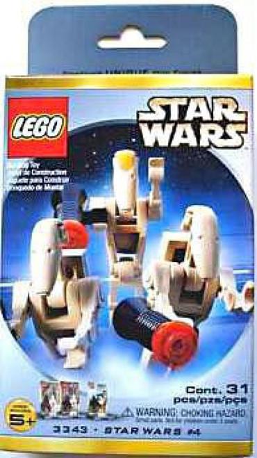 LEGO Phantom Menace Star Wars #4 Minifigures Set #3343 [Damaged Package] [New]