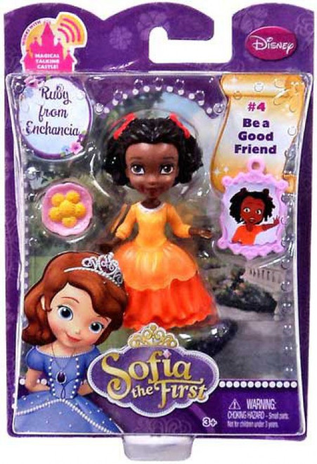 Disney Sofia the First Ruby from Enchancia 3-Inch Figure #4 [Damaged Package]