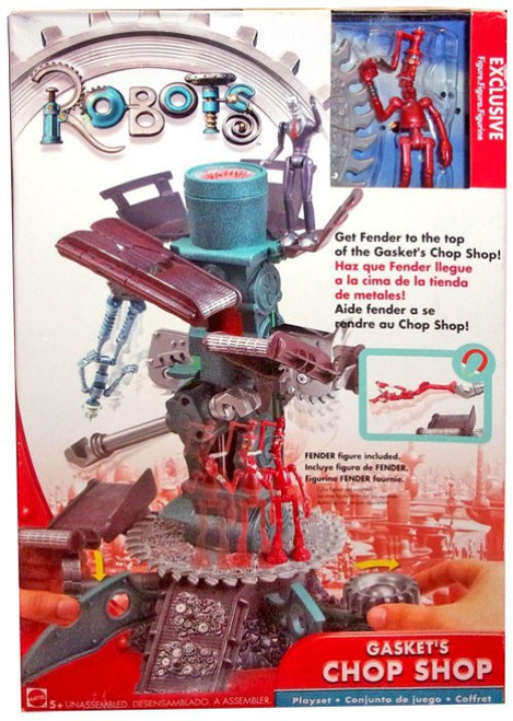 Robots Gasket's Chop Shop Exclusive Playset [Damaged Package]