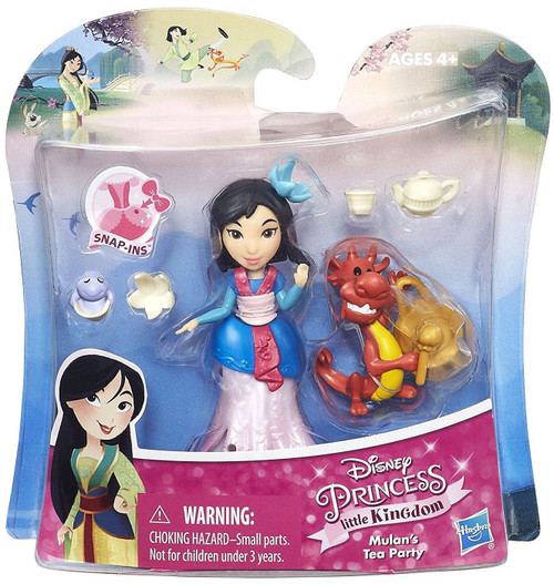 Disney Princess Little Kingdom Mulan's Tea Party Figure [Damaged Package]