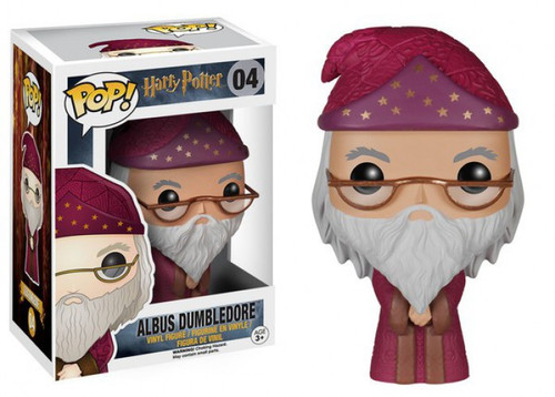 Funko Harry Potter POP! Movies Albus Dumbledore Vinyl Figure #04 [Red Robe, Damaged Package]