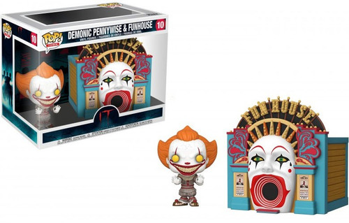 Funko IT Chapter 2 POP! Town Demonic Pennywise & Funhouse Vinyl Figure Set #10