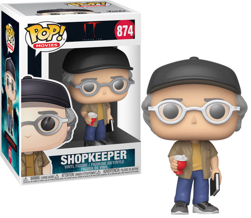 Funko IT Chapter 2 POP! Movies Shopkeeper Vinyl Figure [Stephen King]