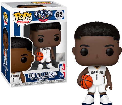 Funko NBA New Orleans Pelicans POP! Sports Basketball Zion Williamson Vinyl Figure #62