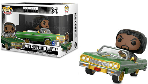 Funko POP! Rocks Rides Ice Cube with 1964 Impala Vinyl Figure #81