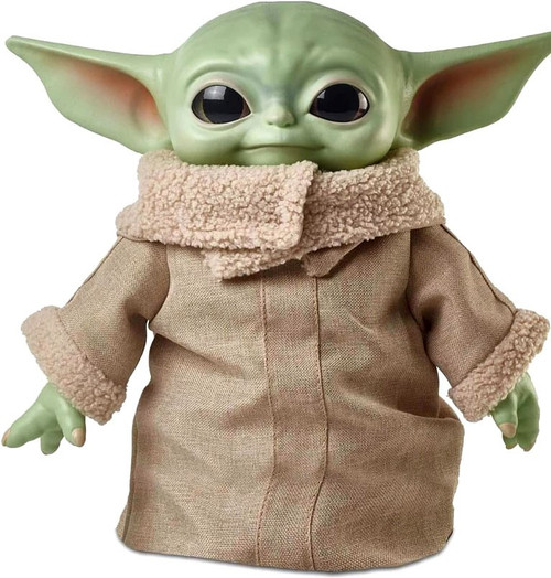 Star Wars The Mandalorian The Child (Baby Yoda / Grogu) 11-Inch Plush