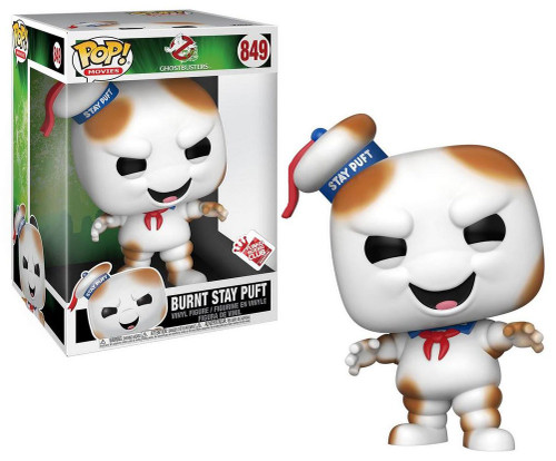 Funko Ghostbusters POP! Movies Burnt Stay Puft Marshmallow Man Exclusive 10-Inch Vinyl Figure [Super-Sized]