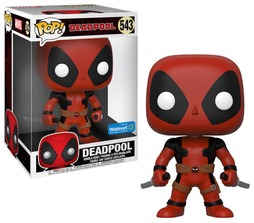 Funko POP! Marvel Deadpool Exclusive 10-Inch Vinyl Bobble Head #543 [Super-Sized, Swords]