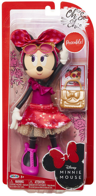 Disney Oh So Chic Minnie Mouse 9-Inch Doll