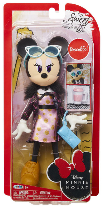 Disney Sweet Latte Minnie Mouse 9-Inch Doll