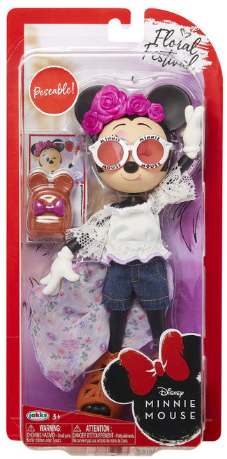 Disney Floral Festival Minnie Mouse 9-Inch Doll