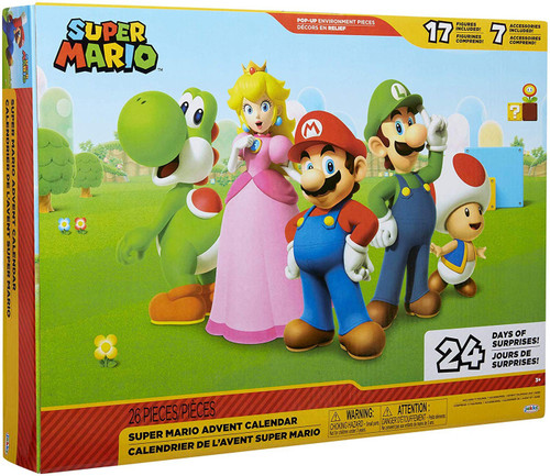 Super Mario Exclusive Advent Calendar