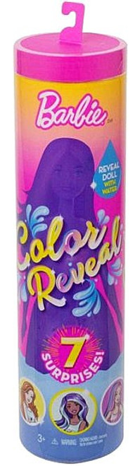 Color Reveal Animal Series Barbie Surprise Doll
