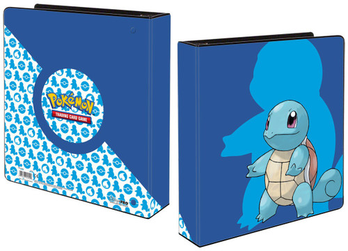 Ultra Pro Pokemon Trading Card Game Card Supplies Squirtle 2 Inch Binder