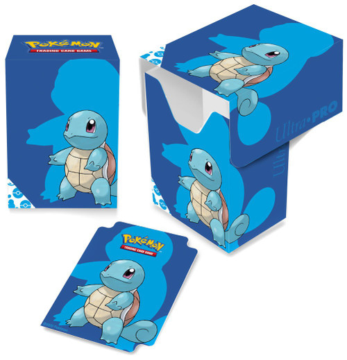 Ultra Pro Pokemon Trading Card Game Card Supplies Squirtle Deck Box