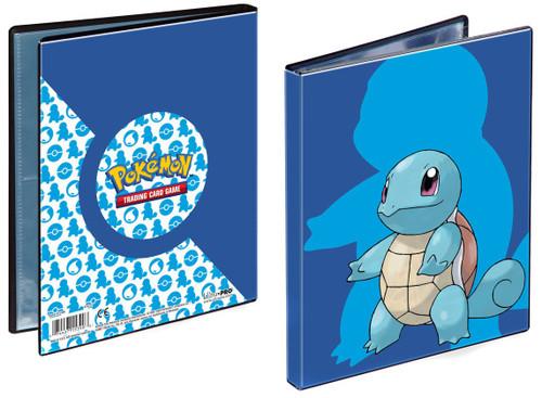 Ultra Pro Pokemon Trading Card Game Squirtle 4-Pocket Portfolio