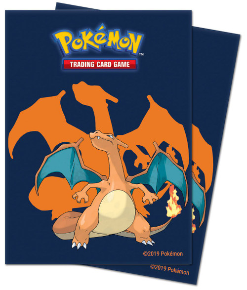 Ultra Pro Pokemon Trading Card Game Charizard Card Sleeves [65 Count]