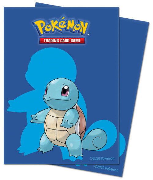 Ultra Pro Pokemon Trading Card Game Squirtle Card Sleeves [65 Count]