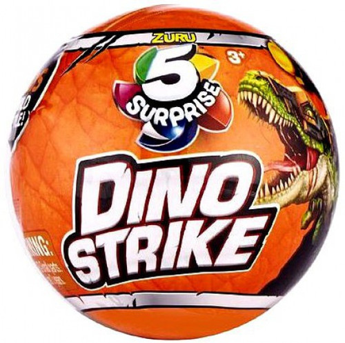 5 Surprise Dino Strike Series 1 Mystery Pack