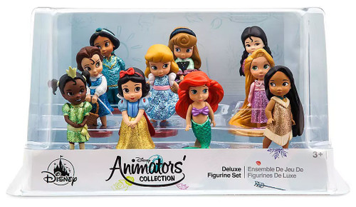 Disney Animators' Collection Exclusive 10-Piece PVC Figure Play Set