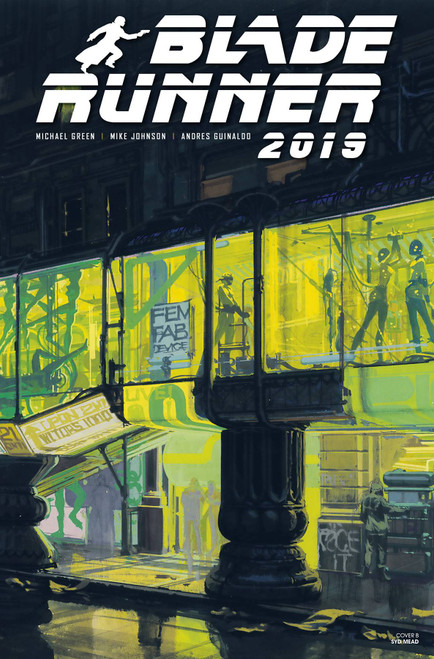 Titan Comics Blade Runner 2019 #6 Comic Book [Syd Mead Cover B]