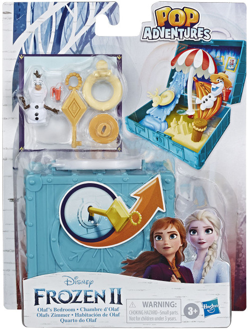 Disney Frozen 2 Pop Adventures Olaf's Bedroom Exclusive 2.25-Inch Pop-up Playset