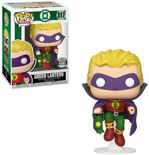 Funko DC POP! Heroes Alan Scott as Green Lantern Exclusive Vinyl Figure #317