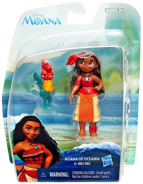 Disney Moana Moana of Oceania & Heihei Action Figure [Damaged Package]