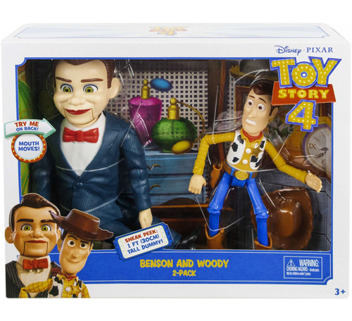 Toy Story 4 Benson & Woody Action Figure 2-Pack [Damaged Package]