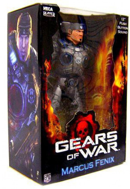 NECA Gears of War Marcus Fenix Action Figure #1 [Damaged Package]