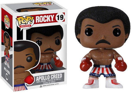 Funko Rocky IV POP! Movies Apollo Creed Vinyl Figure #19 [Damaged Package]