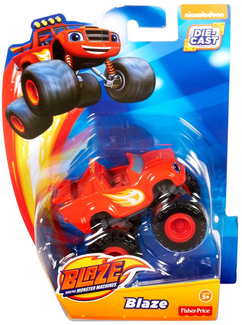 Fisher Price Blaze & the Monster Machines Blaze Diecast Car [Loose]