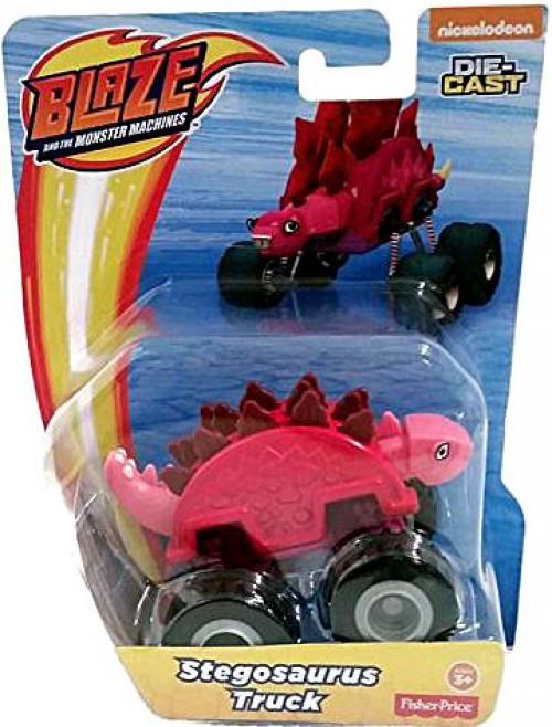 Fisher Price Blaze & the Monster Machines Stegosaurus Truck Diecast Car [Loose]