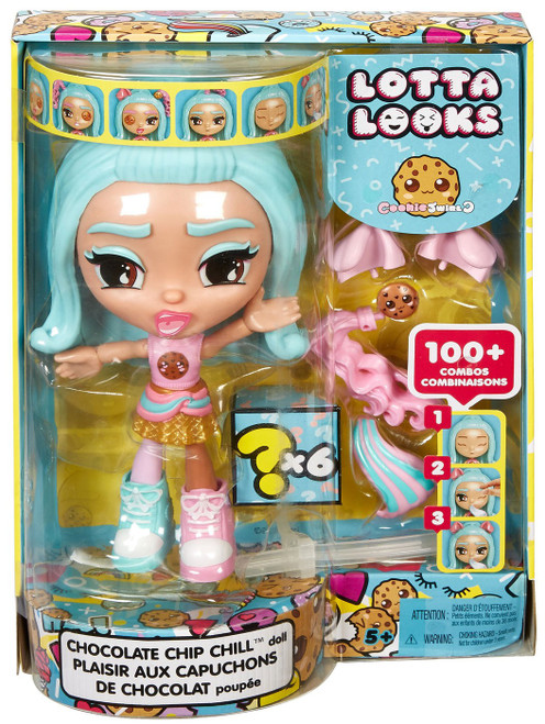 Lotta Looks Cookie Swirl Chocolate Chip Chill Exclusive Doll