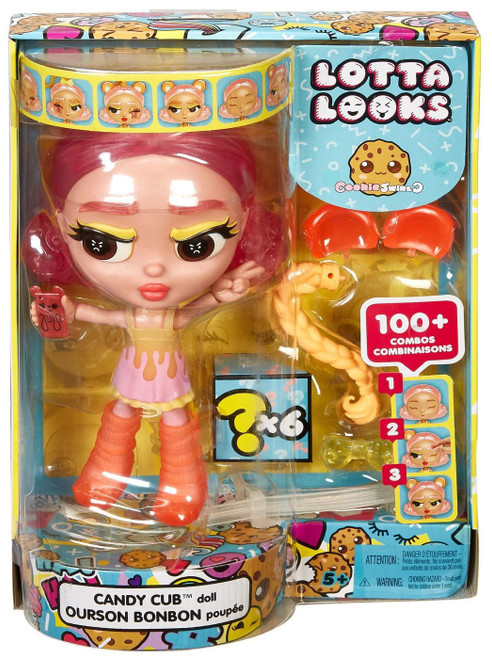 Lotta Looks Cookie Swirl Candy Cub Exclusive Doll