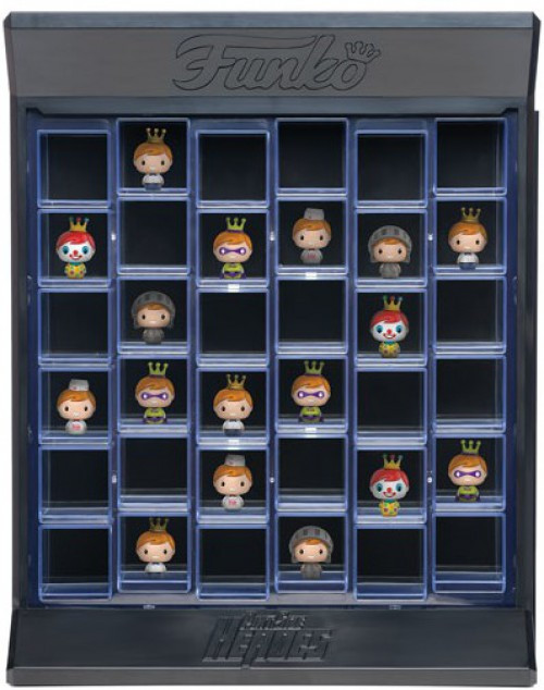 Funko Pint Size Heroes Clear Display Case [36 Slots, Damaged Package]
