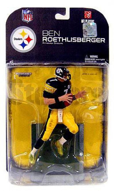 McFarlane Toys NFL Pittsburgh Steelers Sports Picks Series 18 Ben Roethlisberger Action Figure [Dirty Uniform, Damaged Package]
